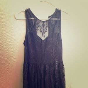 Express black lace dress. Bought new.